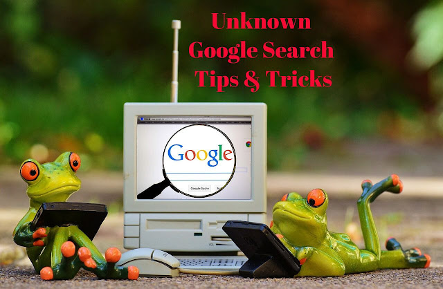 goolge search tips and tricks