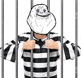 你是個囚犯。