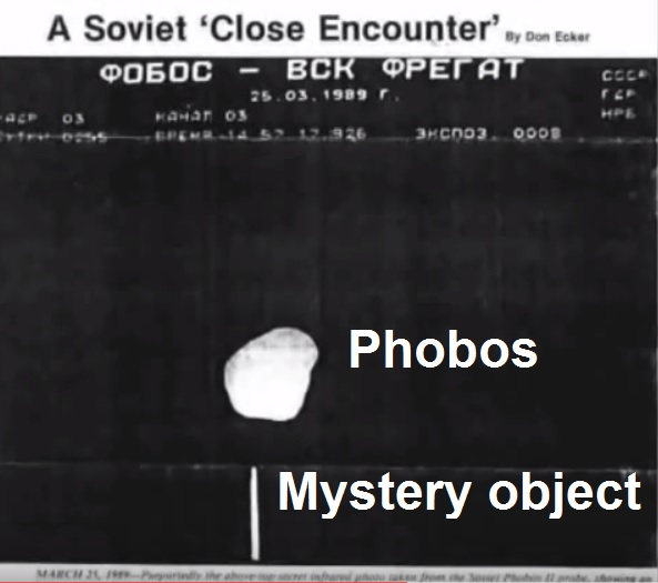 Phobos - scientists believe it to be a craft  Untitled