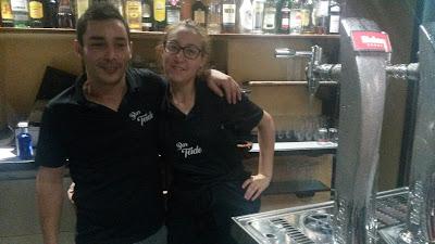 Oscar y Silvia, ambos con su incansable sonrisa nos hacen feliz cualquier momento del día.