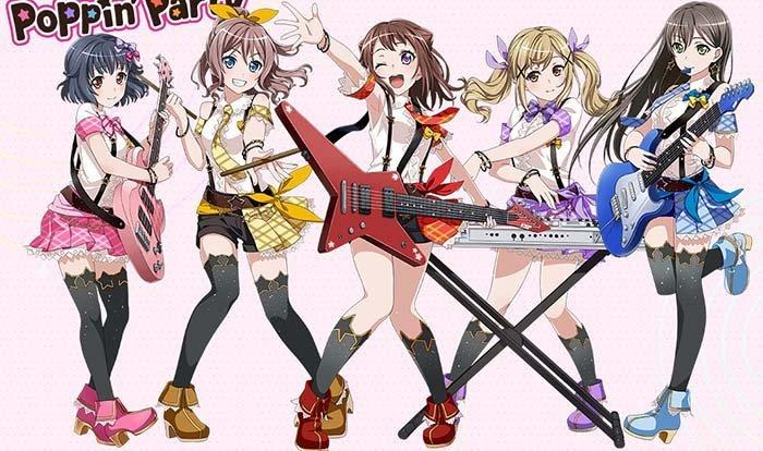 BanG Dream!, Rekomendasi Anime Musikal/Musik/Music Terbaik