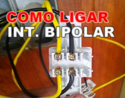 Como instalar interruptores BIPOLAR
