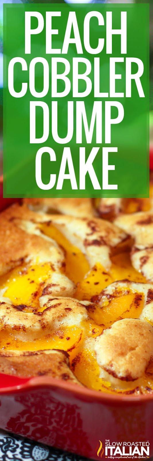 Dump Cake Fruit Cobbler