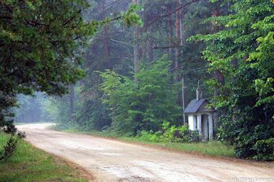 Bojany kapliczka domkowa