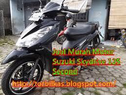 Jual Murah Motor Suzuki Skydrive 125 Second
