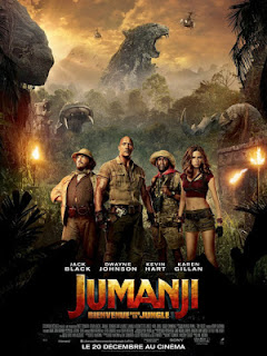 Jumanji: Welcome to the Jungle (2017) hindi dubbed movie watch online 720p DVDscr