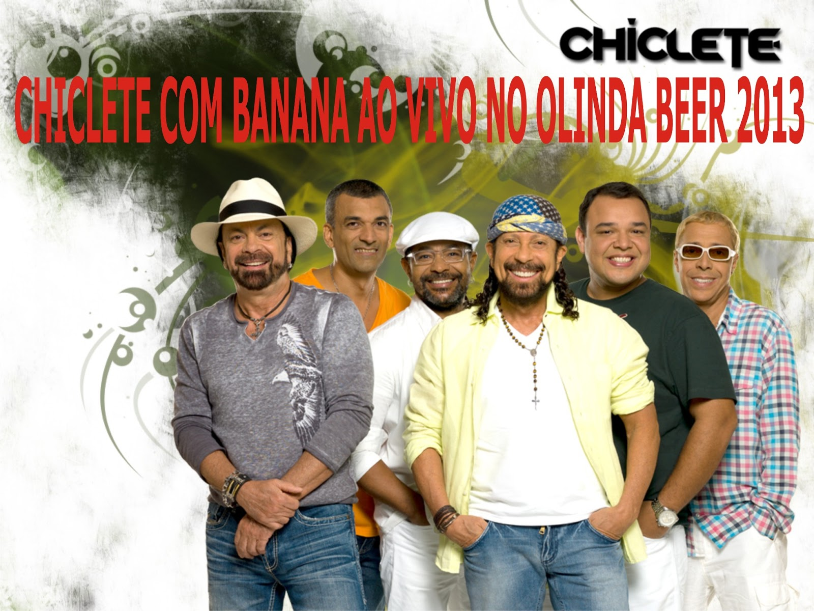 chiclete com banana ao vivo 2013