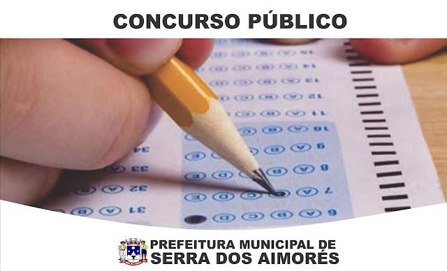 Concurso Público Prefeitura de Serra dos Aimorés abre Inscrições