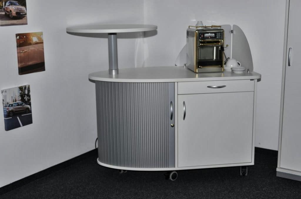 Colour Up Your Office !: Mobiler Kaffeeschrank Bei Fiat