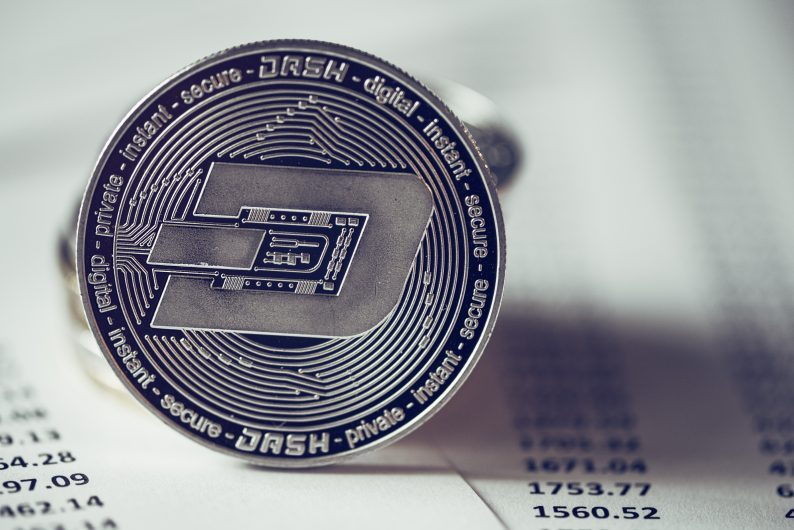 price of dash cryptocurrency