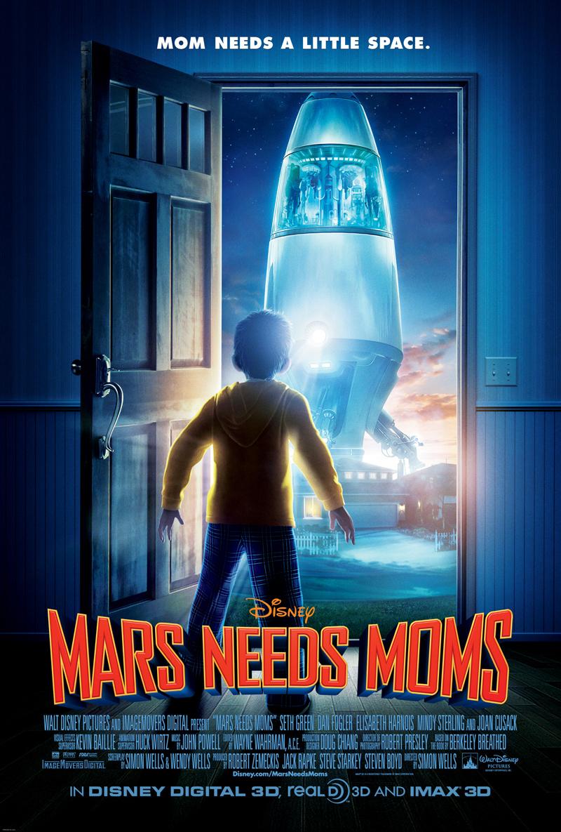 Mars Needs Moms ภารกิจแอบจิ๊กตัวแม่บนดาวมฤตยู [HD][พากย์ไทย]