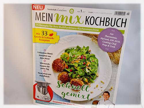Zeitschrift Rezepte rezepte für tm prep cook und co landidee mein mix kochbuch