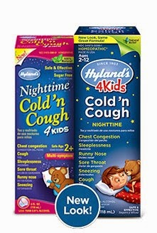 Hyland's 4 Kids Cold n Cough Nighttime