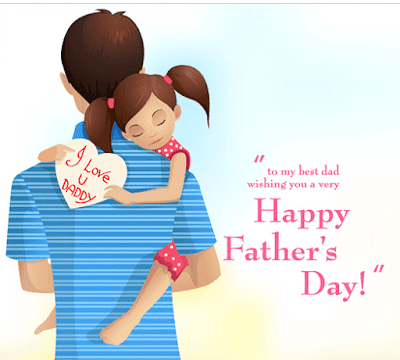 Happy Fathers Day from daughter