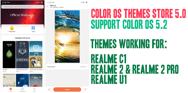 Color OS Themes Store v5 0 Original Update [APK][LATEST] - Alldy JK
