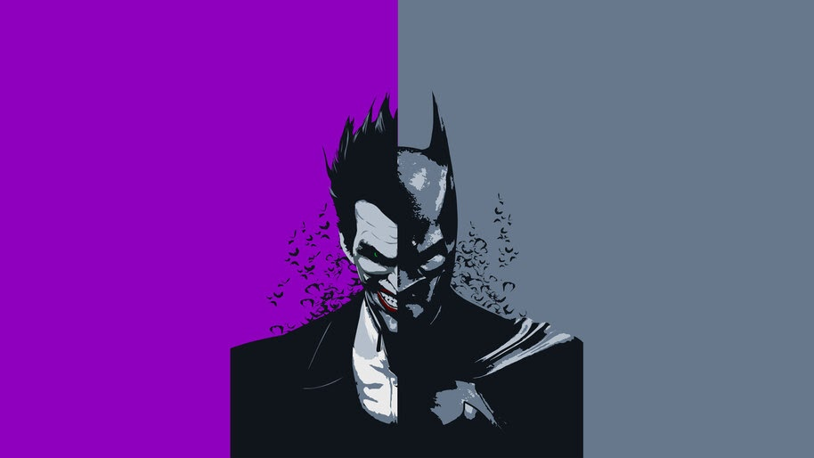Batman, Joker, Minimalist, 4K, #6.402