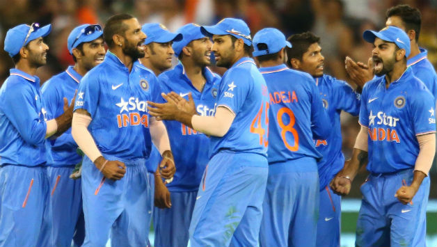 indian cricket team photos after wicket