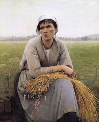 Peasant Woman from Normandy (1889), Asta Norregaard