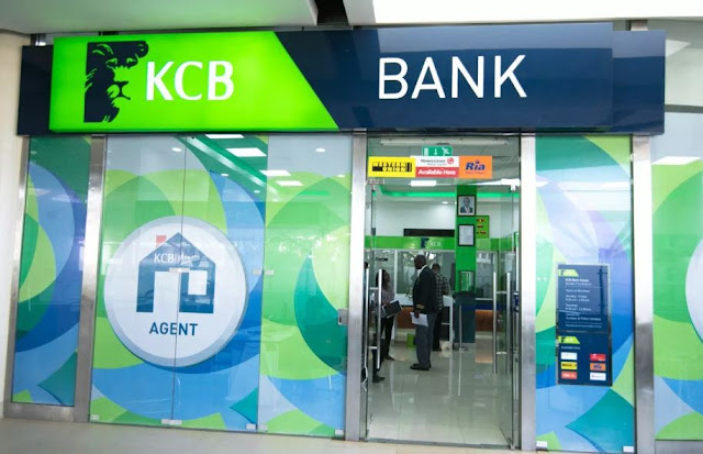 kcb bank code 5 digits