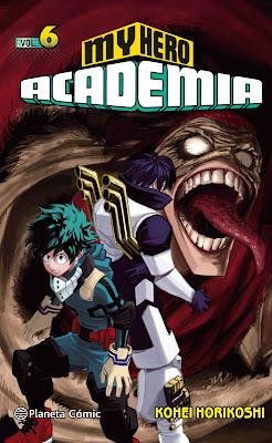 "My Hero Academia"" (僕のヒーローアカデミア) vol.6 de Kōhei Horikoshi - Planeta Cómic"