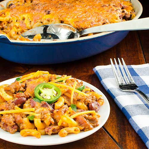 Real-Chili Chili Mac Casserole