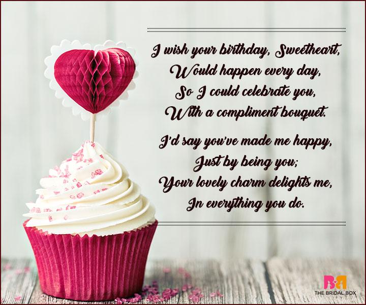 Birthday Birthday Love Poems