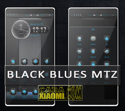 Theme MIUI Mod BlackBlues Mtz Update Tema Keren For Xiaomi