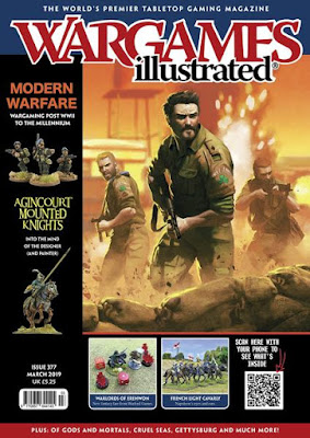 Wargames Illustrated 377, March 2019