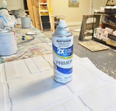 spray primer for textured wall panels