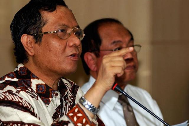 Mahfud MD: Maruf Amin Harus Mundur dari Ketua MUI Kalau Nyapres