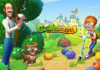download gardenscapes mod apk versi terbaru