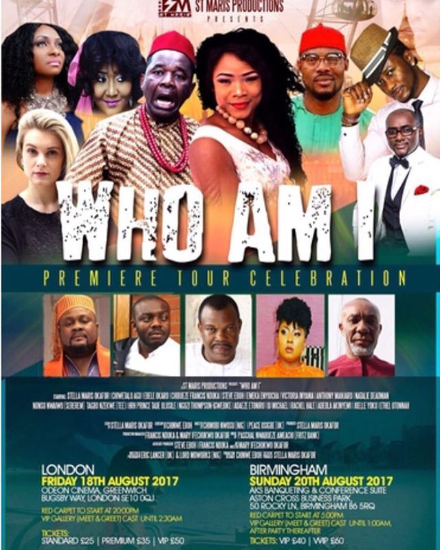 Sun/20/Aug: B'mingham Premiere of Stella Marie Okafor's WHO AM I @