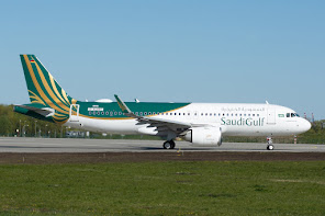 1st A320NEO for Saudi Gulf