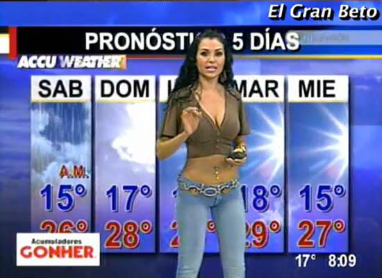 Hot Nude Weather Girls