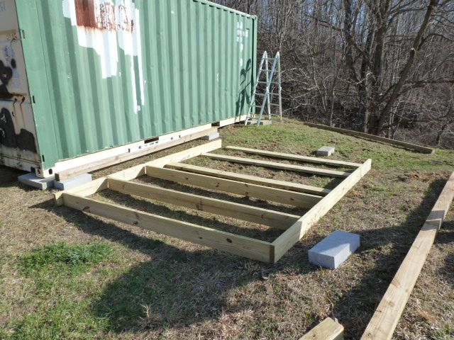 looking How to build a shed using deck blocks | Shed plans ...