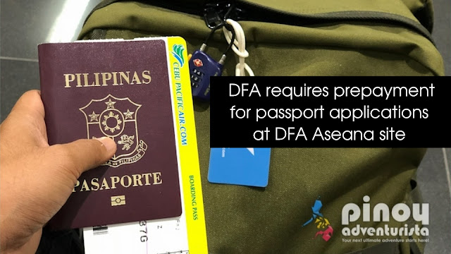 Live Testing of the Passport ePayment Facility in DFA-ASEANA