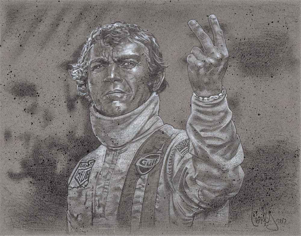 Steve McQueen, Le Mans, Artwork© Jeff Lafferty