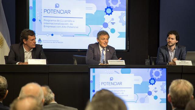 Lanzan el plan PotenciAR para reforzar el perfil exportador de la industria argentina
