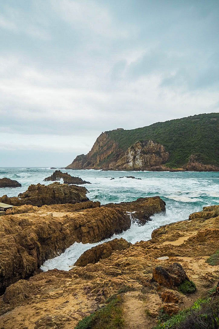 Knysna Heads beach, South Africa