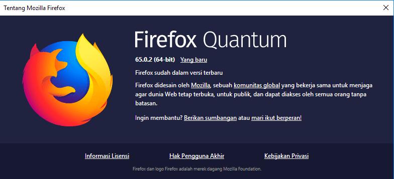 Mengupdate Browser