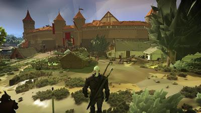 The Witcher 3 ahora con gráficas tipo Nintendo DS gracias a un mod