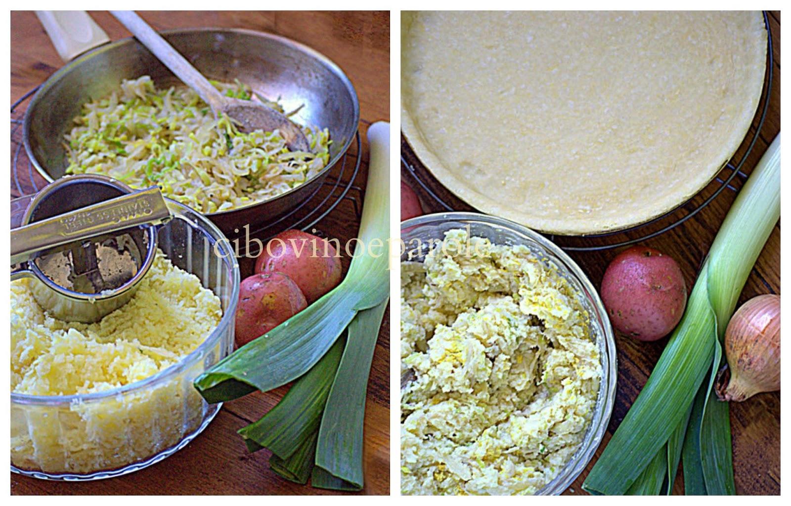Torta di patate - ingrrdienti - ricetta