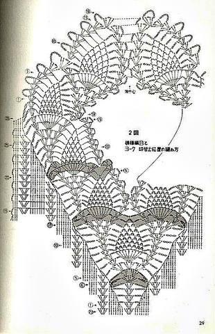 Вязание крючком оформление горловины