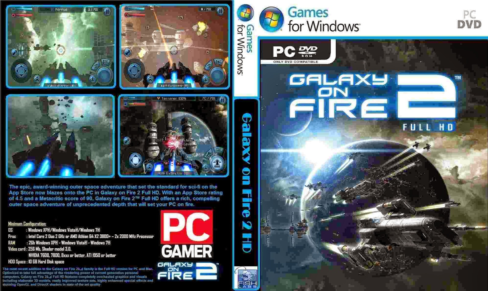 galaxy on fire 2 pc