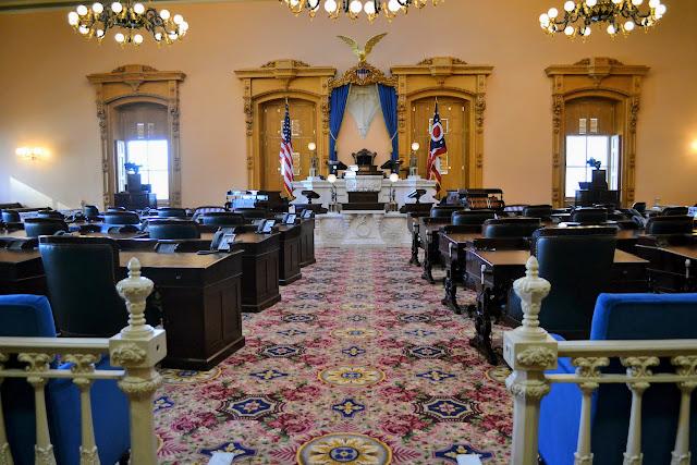 Капітолій штату Огайо, Колумбус (Ohio Statehouse, Columbus, Ohio)