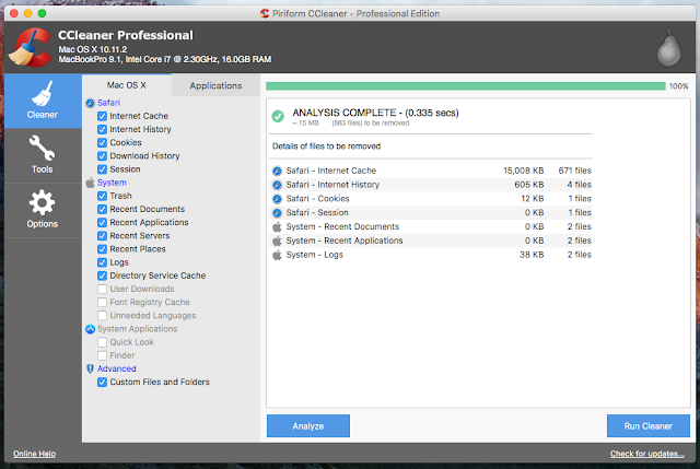 CCleaner Free Download Latest Version For PC