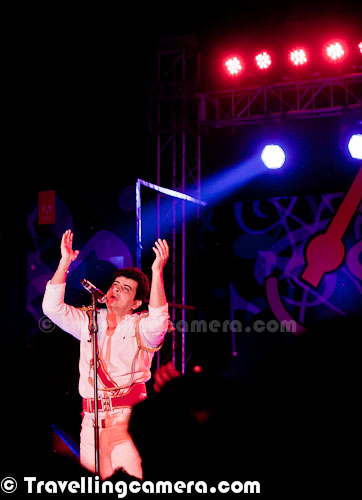 All these Photographs are dedicated to Palash Sen, Lead Vocalist of Euphoria Rock Band of India. Palash Sen performed brilliantly in Winter carnival 2012 of Adobe Systems India. All these photogrphs are from Steller gymkhana, Greater Noida where Adobe Carnival took place on 19th Feb 2012. Apart from Rocking performance by Euphoria Rock Band, there were some performances by inhouse Bands of Adobe. Apalash Sen was no doubt star of the evening and he was extremely energetic. He was Doctor initially and then formed this band in 1998.