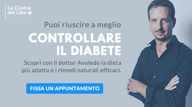 La visita con il dr. Avoledo, biologo nutrizionista, per la dieta per il diabete