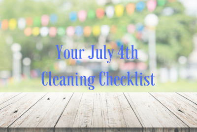 July 4th Prep Checklist