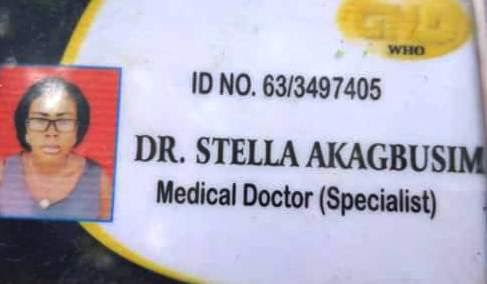 NSCDC nab woman in Obudu, Calabar for parading herself as a medical doctor (See Photos)